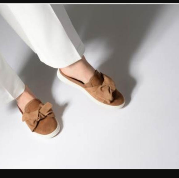 0f4b1d5096b UGG Luci suede bow mules